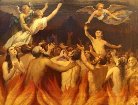 linh hồn trong luyện tội, linh hồn chịu thanh luyện, linh hồn sau khi chết