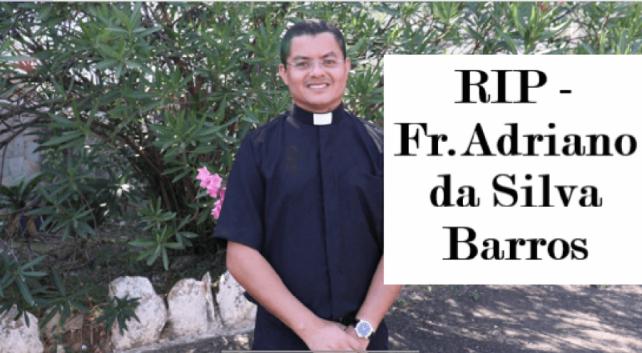 linh mục Adriano, linh mục trẻ tại Brazil, Linh mục trẻ bị giết tại Brazil