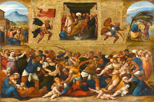 các thánh anh hài, lễ kính tử đạo các thánh anh hài, vua herode và các thánh anh hài