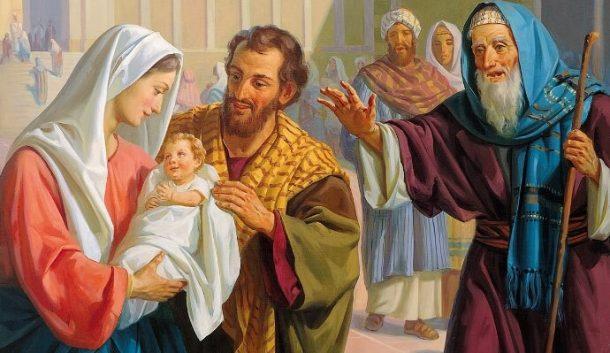 Đức Mẹ dâng Chúa trong đền thánh, bài giảng về lễ Đức Mẹ dâng Chúa trong đền thánh, lời Chúa