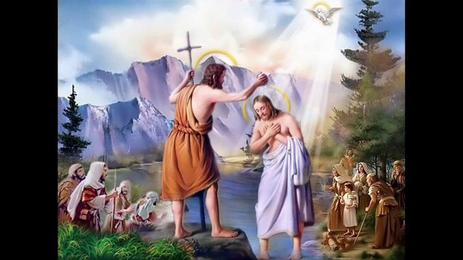 chúa giêsu chịu phép rửa, phép rửa, chúa giêsu chịu phép rửa