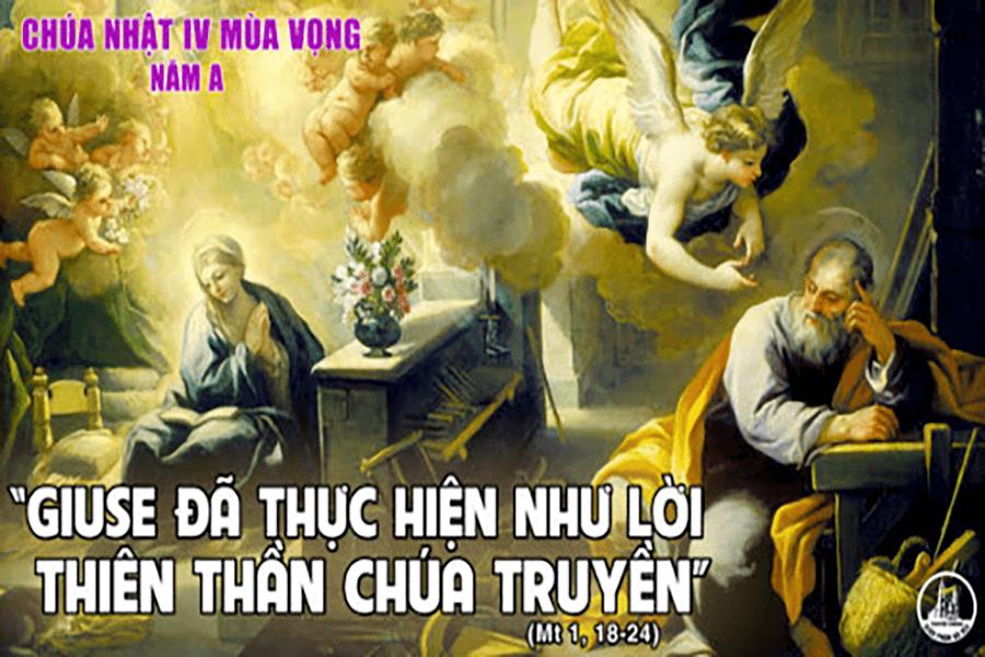 lắng nghe tiếng Chúa,Thánh Giuse công chính