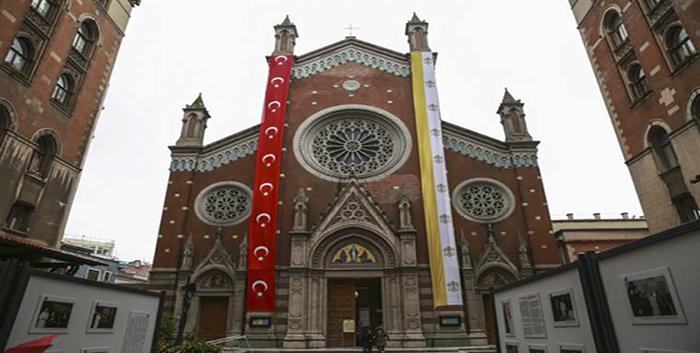 Kẻ lừa đảo bị bắt sau khi cố gắng bán vương cung thánh đường Thổ Nhĩ Kỳ, kẻ lừa đảo muốn chiếm hữu nhà thờ, kẻ lừu đảo bán Đền Thánh