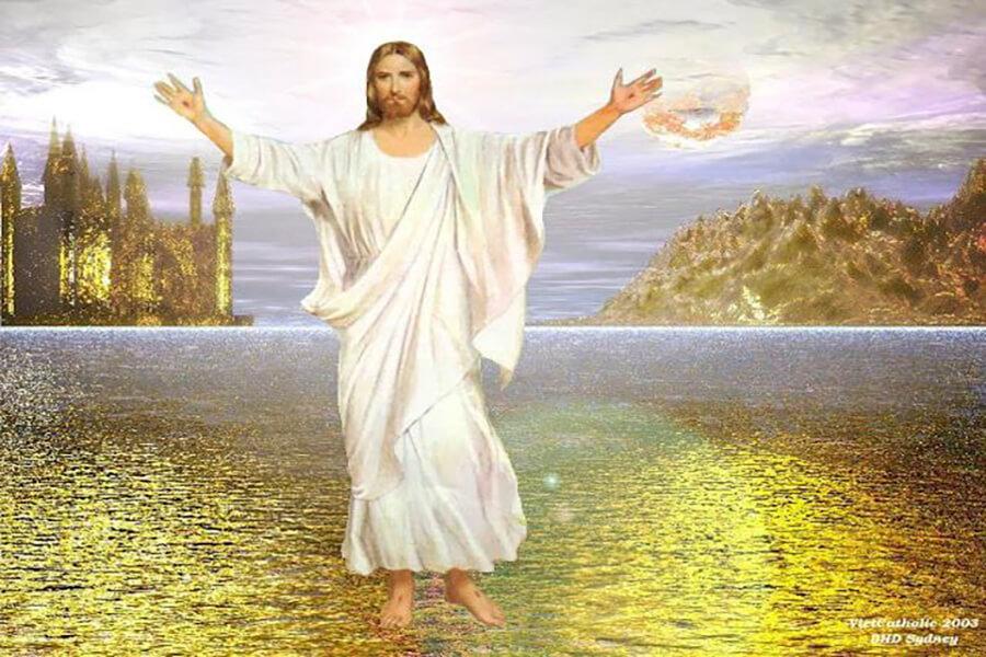 Chúa Giêsu không phục sinh, Chúa Giêsu phục sinh, Lễ phục sinh