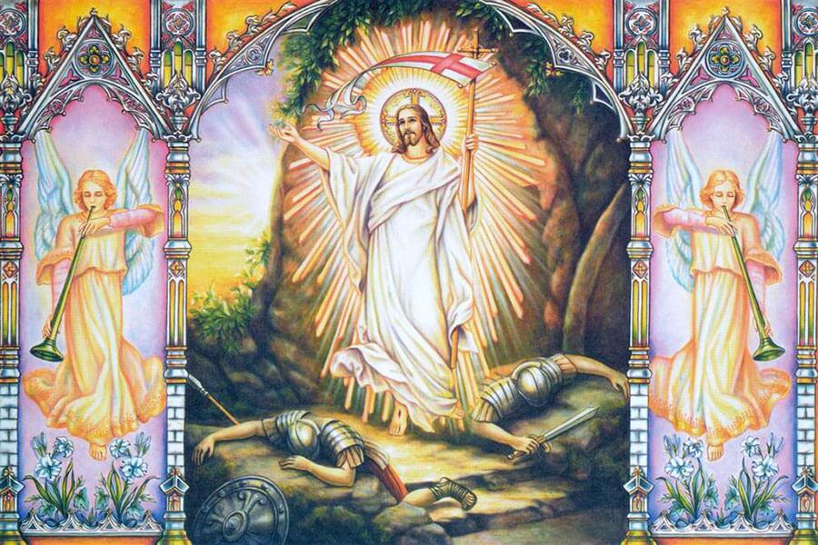 Theo Kinh Thánh, Đức Giê-su phải trỗi dậy từ cõi chết, Ông đã thấy và tin