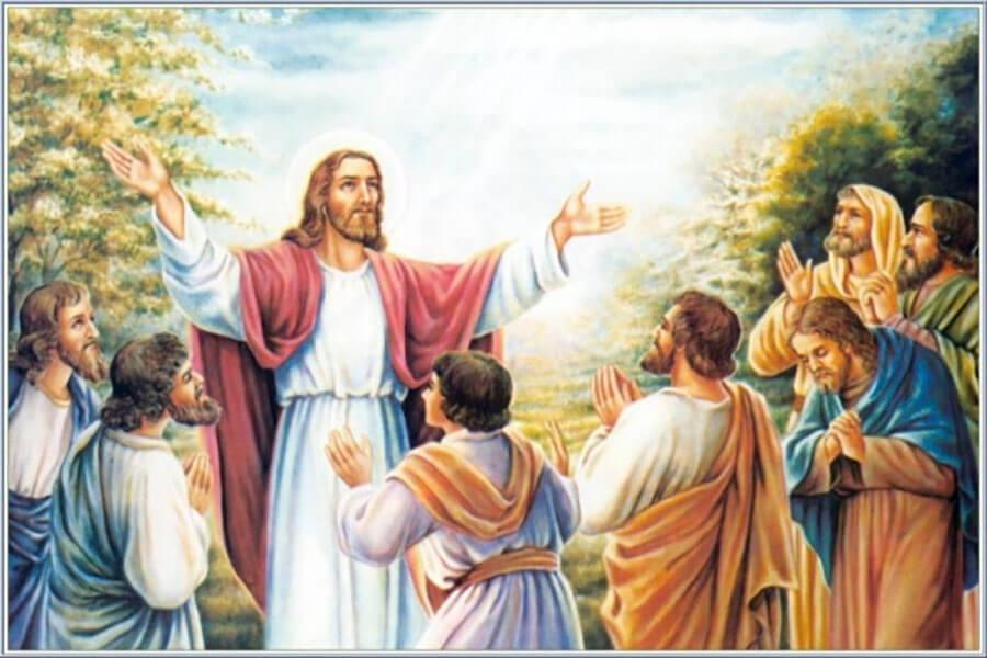 Chúa Giêsu lên trời,ngày lễ Chúa Giêsu lên trời, Lễ thăng thiên