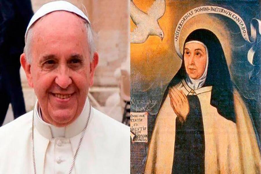 Đức Phanxicô: 'Thánh Têrêsa Ávila cho thấy tầm quan trọng của phụ nữ trong Giáo hội và xã hội', ĐGH: Thánh Têrêsa Avila cho thấy tầm quan trọng của người phụ nữ trong Giáo Hội và xã hội.