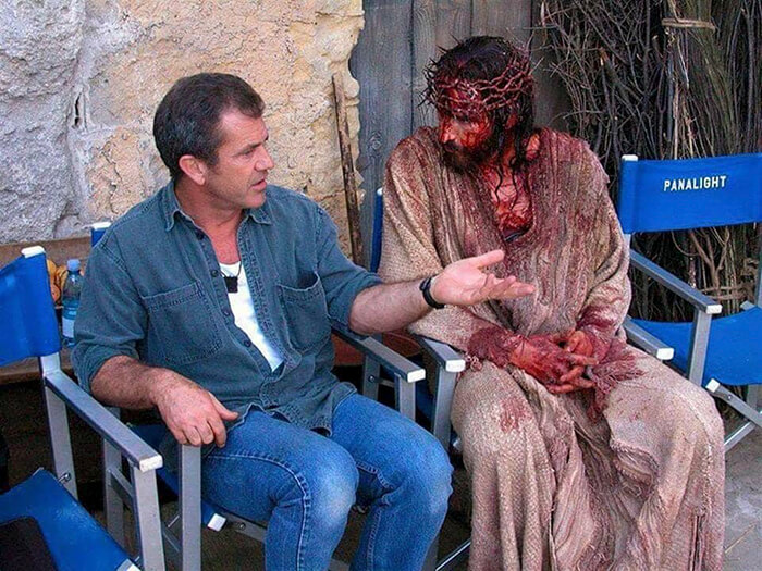 Cuộc khổ nan Chúa Giêsu, Thiên Chúa, Diễn viên đóng vai Chúa Giêsu