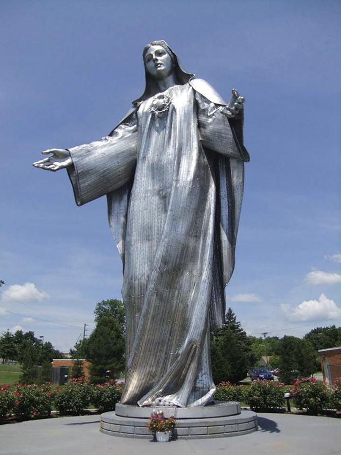 10 tượng Đức Mẹ lớn nhất trên thế giới