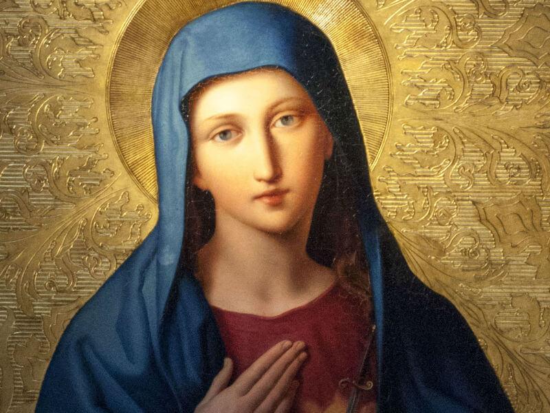 Mẹ Maria, Mẹ Thiên Chúa, kinh cầu cùng Đức Mẹ
