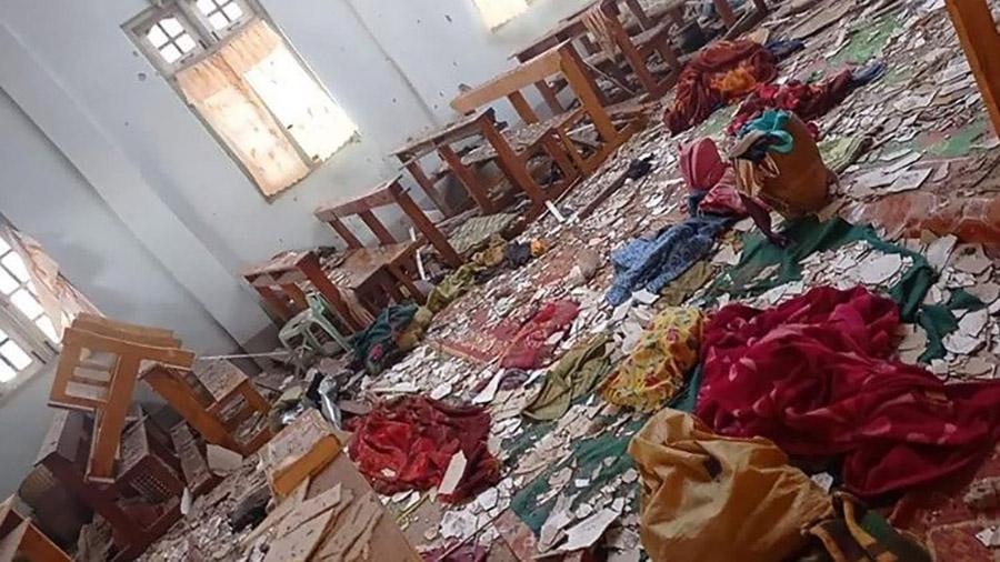 myanmar - đánh bom- khủng bố