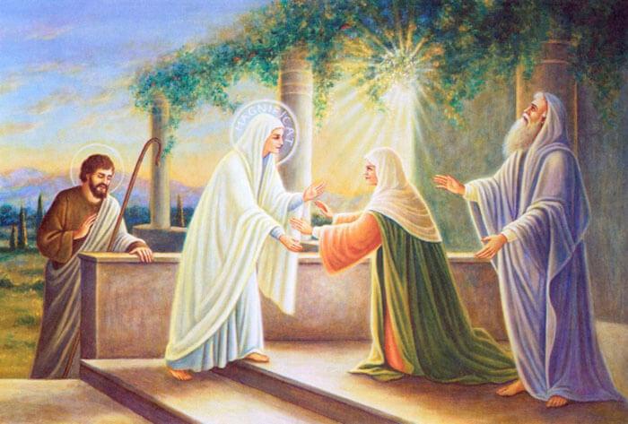 Đức Maria thăm Bà Êlisabet, Mẹ Maria thăm viếng bà êlizabet, Đức Maria thăm bà isave