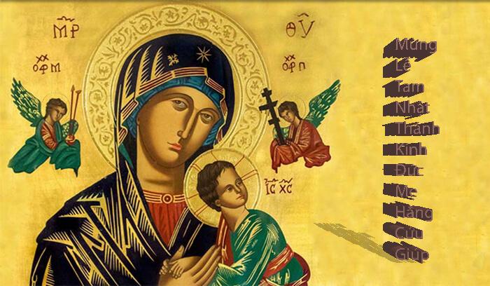 Cùng Mẹ lên đường, Mẹ Maria