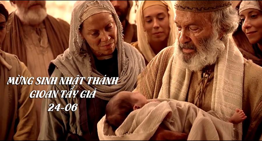Thánh gioan tẩy giả, sinh nhật thánh Gioan tẩy giả