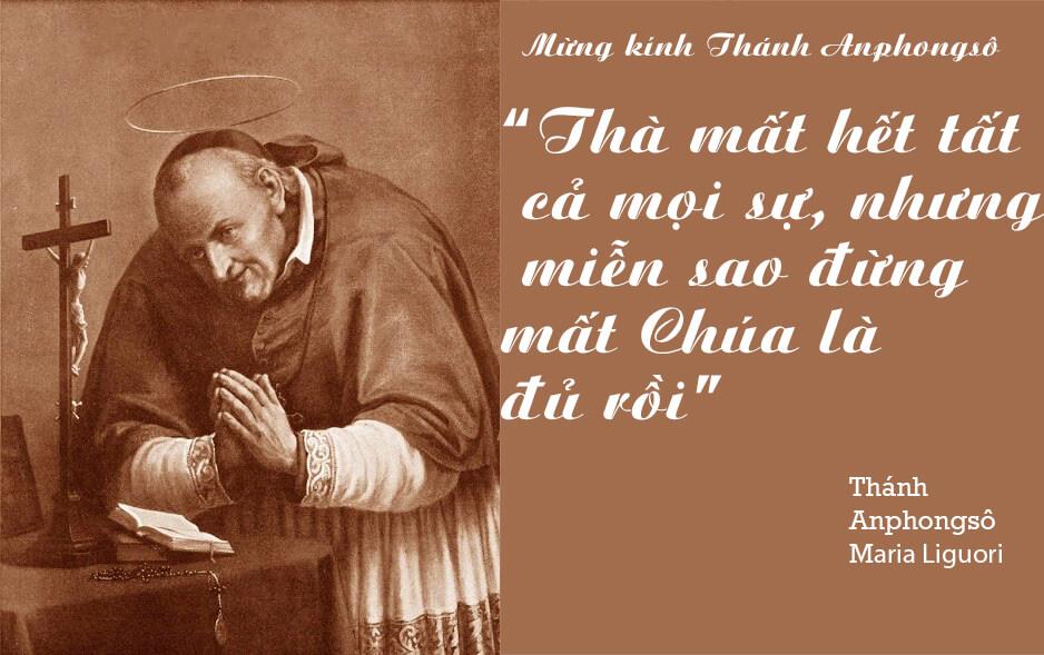 Thánh Anphongsô, Kính Thánh Anphongsô, yêu người nghèo
