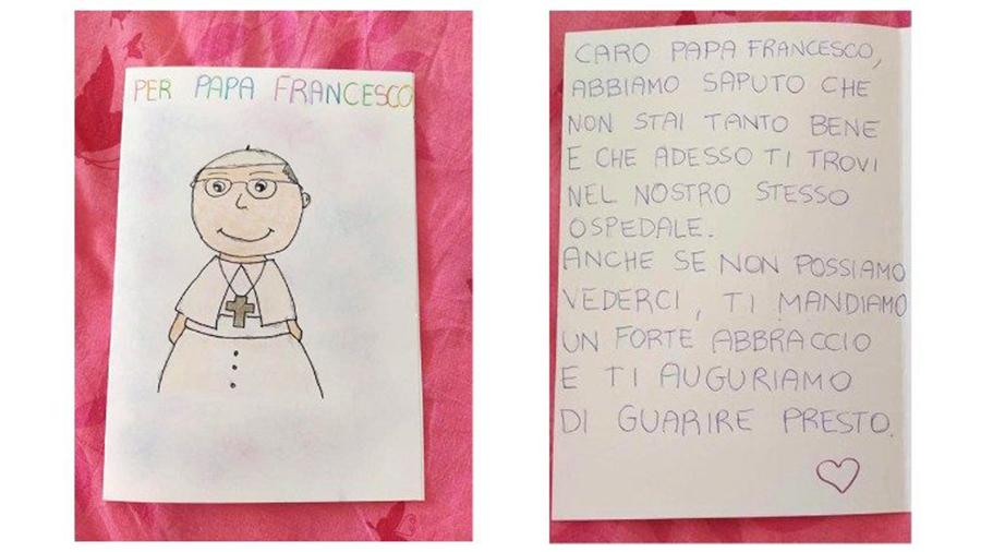 lá thư của các em nhỏ gửi Đức Giáo  Hoàng