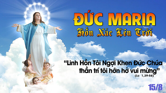 Đức Mẹ Maria lên trời