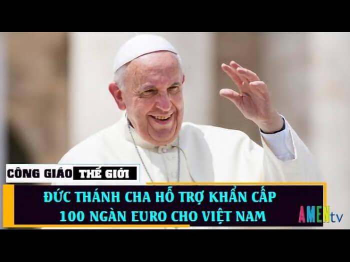 Đức Thánh Cha hỗ trợ, Viện trợ, Đức Thánh Cha viện trợ cho các nước