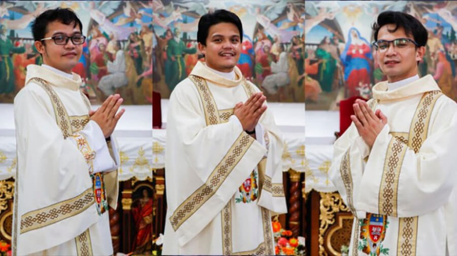 Ba anh em ruột trở thành linh mục trong cùng một ngày, trở thành linh mục, linh mục
