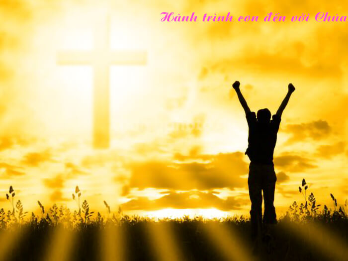 Hành trình con đến với Chúa