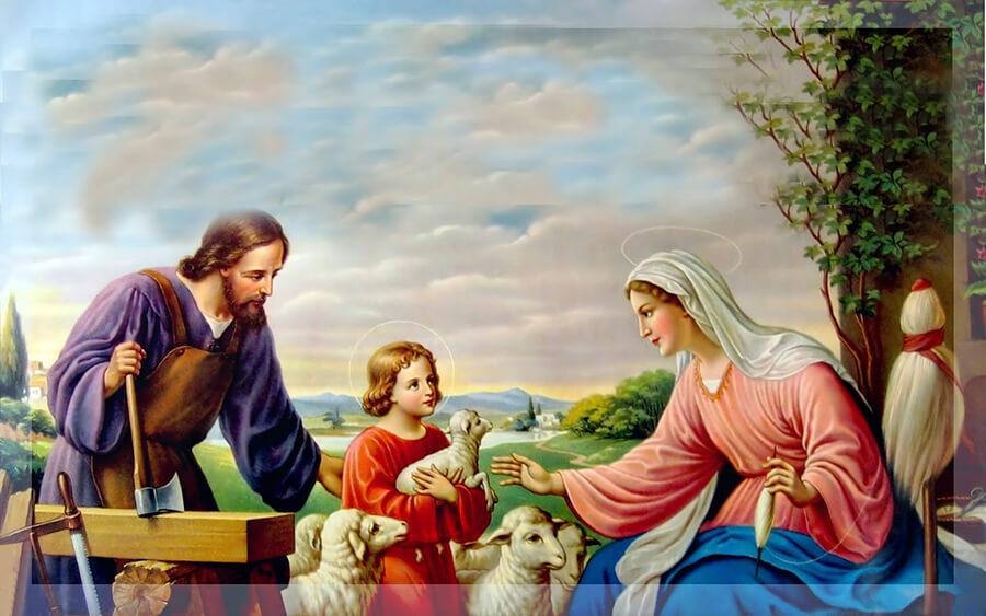 Thánh Giuse, cha nuôi Giuse, vị thánh mẫu mực