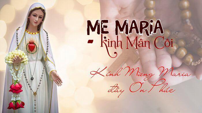 Mẹ Maria - kinh Mân Côi